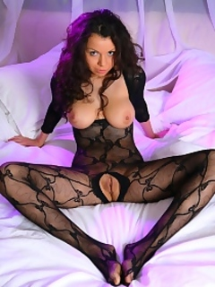 Irene In Body Stocking